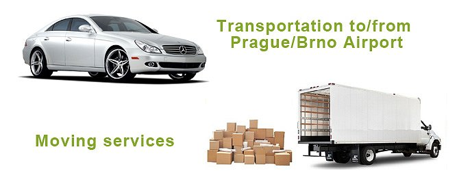 Transportation service to airport / Moving services